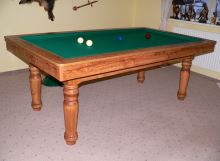 Amateur billiards carom 180, slate board