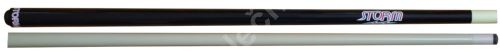 STORM blue one-piece cue 146 cm bonded leather