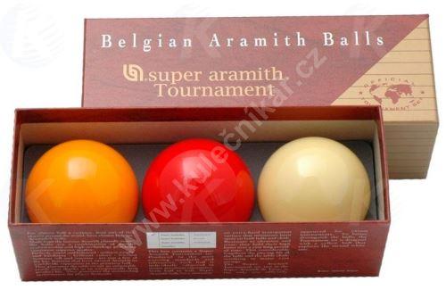 Karambolové koule SUPER Aramith Tournament 3, 61,5 mm