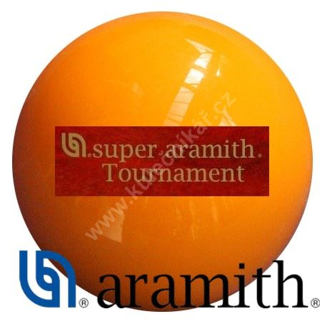 Karambolová koule Super Aramith Tournament 61,5 mm, Yellow