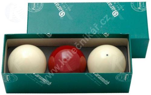 Karambolové balls Aramith Premier Set of 3 - 61.5 m