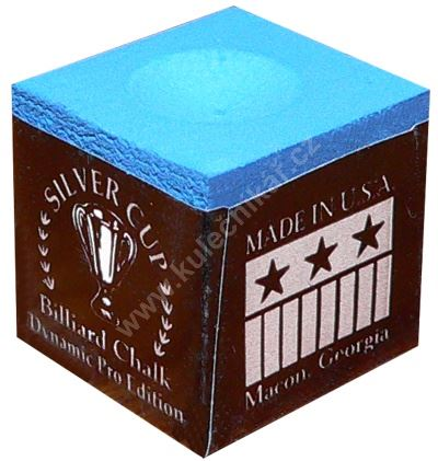 Křída na tágo Chalk SILVER CUP, blue