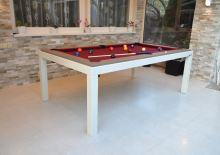 Kulečník Pool billiard OFFICE 8 FT - jídelní stůl