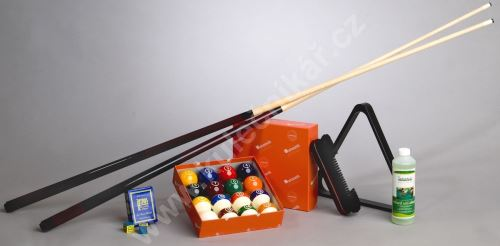 SET STANDARD billiard accessories, Pool