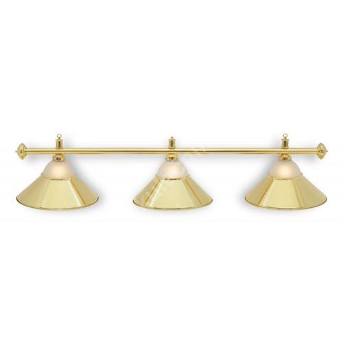 Billiard lamp gold golden - Sirma 3 + glass