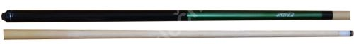 Cue-piece short SNIPER 132 cm, green