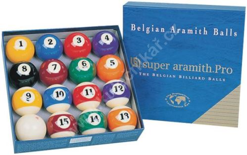 Aramith pool balls SUPER PRO 57.2 mm
