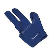 Billiard gloves Dynamic Deluxe Blue (universal for both right-and left-handed)