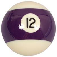 Náhradní koule pool standart jednotlivá č.12 - průměr 57,2mm